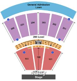 4 Tickets The Peach Music Festival Thursday 7/1/21 Scranton, PA