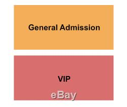 4 Tickets Under The Big Sky Music Festival 2 Day Pass 7/17/21 Whitefish, MT