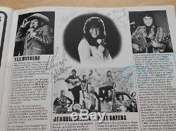 8th International Festival Of Country Music 1975 Programme/Ticket(Hand Signed)