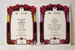 A 1969 Isle Of Wight Festival Weekend Ticket Bob Dylan The Who Moody Blues etc