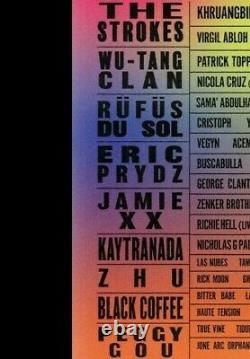A 2-DAY GA Ticket 3 III Points Music Festival Wristband Miami 10/22 10/23 2021