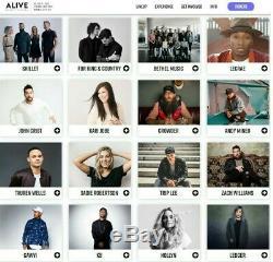 Alive Music Festival Tickets (4 Full & 2 Junior) plus Premium Campsite #853