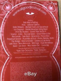 All Good 11 2007 Concert Ticket Music Festival stub Ratdog moe WV grateful dead