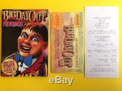 Big Day Out 2003 Festival ticket + guide book and original receipt Collectors