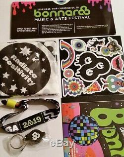 Bonnaroo Music & Arts Festival 2019 4 Day General Admission Wristband