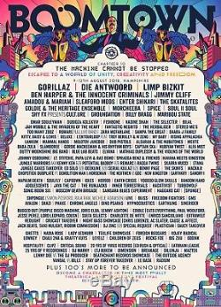 Boomtown 2018 Festival Tickets WEDNESDAY ENTRY 8th-12th August (x2 Available)