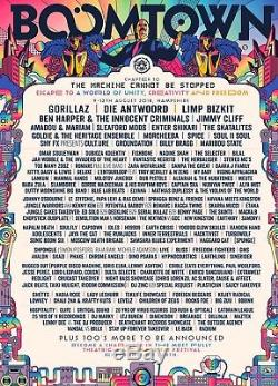 Boomtown Festival Chapter 10 Weekend Online Ticket