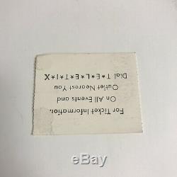 Bread Roses Festival Music Baez Greek Theatre Concert Ticket Stub Vintage 1977