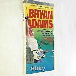 Bryan Adams vintage Wembley capital music festival concert ticket 1992