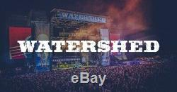 CAMPING PASSES ONLY Watershed Music Festival 3 Day Pass Tickets BIG RIG(Aug 2-4)