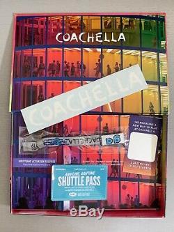 COACHELLA music festival wristband 1st week. With Shuttle pass