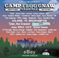 Camp Flog Gnaw 2019 Music Festival 2 Day Pass GA