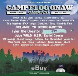 Camp Flog Gnaw 2019 Music Festival 2 Day Pass GA