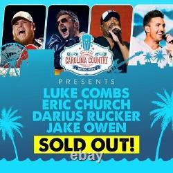 Carolina Country Music Festival 4-Day Pass