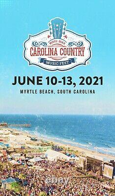 Carolina Country Music Festival- Myrtle Beach- 6/10 to 6/13 SOLD OUT! 2 Passes