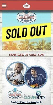 Carolina Country Music Festival Myrtle Beach, SC 6/10 to 6/13