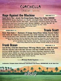 Coachella Music Festival Weekend One Travel Package for 2 4/10-4/12