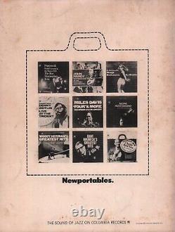 Count Basie Dizzy Gillespie 1966 Newport Jazz Festival Program / Unused Ticket