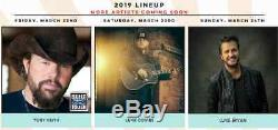 Country Thunder Music Festival 3 Day General Admission Pass Kissimmee FL