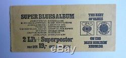 DEEP PURPLE TICKET CONCERT ESSEN 1969 Pop & Blues Festival