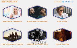 Dierks Bentley Seven Peaks Music Festival