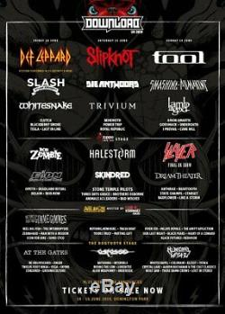 Download Festival 2019 VIP / RIP 2 x Guest Tickets + Camping Slipknot / Tool