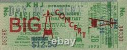 EAGLES JACKSON BROWNE LINDA RONSTADT 1975 UNUSED SUNSHINE FESTIVAL TICKET No. 2