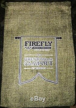 Firefly Music Festival 2019 3 Day Weekend General Admission Pass 6/21/19-6/23/19