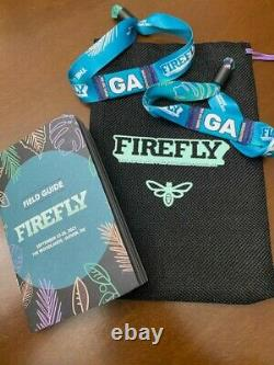 Firefly Music Festival General Admission 4 Day Passes