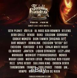 Forbidden Kingdom Music Festival ticket