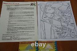Glastonbury Festival 2004 Memorabilia 2 x Tickets, map and traders info