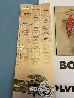 Godspeed You! Black Emperor All Tomorrows Parties Festival. Rare OOP Ticket Book