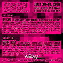 HARD Summer Music Festival Ticket