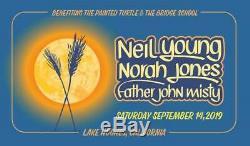 Harvest Moon Music Festival GA Tickets Lake Hughes 9.14 Neil Young Norah Jones