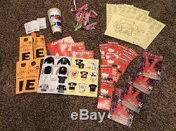 Huge Woodstock 94 Memorabilia Lot Tickets Maps Guide Band Music Festival 1994
