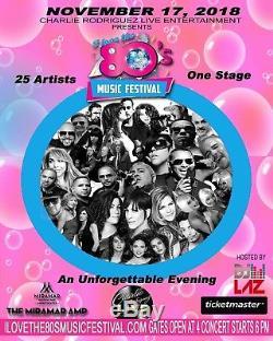 I Love The 80s Music Festival