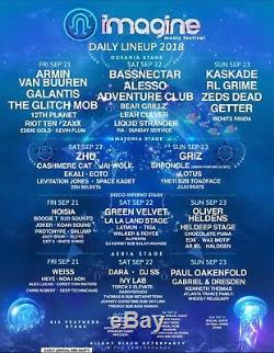 Imagine Music Festival 3 Day Pass Ga Tickets September 21 22 &23 2018 Atlanta Ga