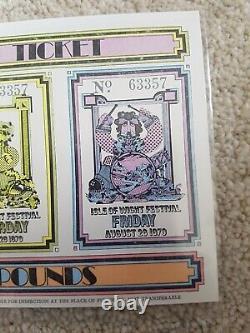 Isle of wight festival 1970 Ticket