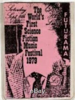 Joy division, public image ltd, the fall, 1979 ticket futurama festival leeds