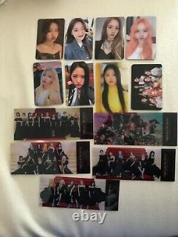 Kpop loona photocard set ticket midnight festival Pre Order album