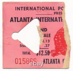 LED ZEPPELIN & JANIS JOPLIN 1969 RARE Concert Ticket Stub Atlanta Pop Festival