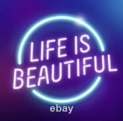Life is Beautiful Music Festival (2) 3 Day Passes Las Vegas 9/17-9/19