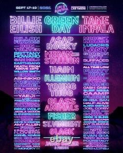 Life is Beautiful Music Festival Tickets Las Vegas 9/17-9/19