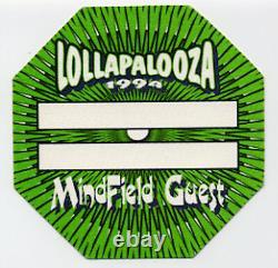 Lollapalooza Festival RARE UNUSED 1994 MINEFIELD PASS backstage/ticket/no-cd/lp