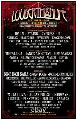 Louder Than Life Music Festival 2021 Weekend General Admission Pass