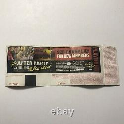Mayhem Festival Korn Rob Zombie Lamb Of God Ask Gary Concert Ticket Stub 2010