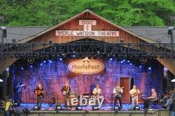 Merlefest music festival reserved seating PLUS parking pass-seat Front Rows
