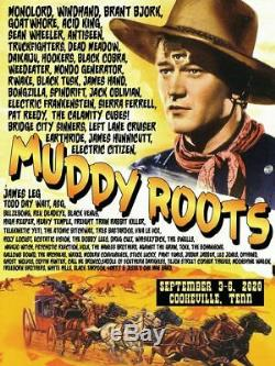 Muddy Roots Music Festival 2020 Early Bird Ticket includes Pre-Party