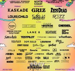 North Coast Music Festival 3 Day GA Tickets