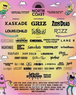 North Coast Music Festival 3 day VIP Wristband